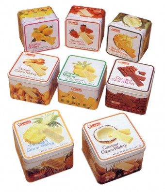 Garden Coconut Cream Wafer (Gift-Tin)