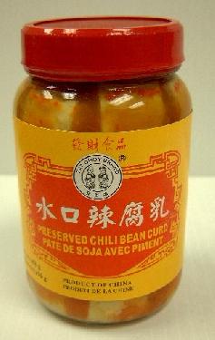 Fat Choy SHuikou Pre Bean Curb (Chil)