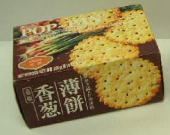 Garden Chives Pop Pan Crackers