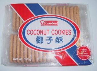 Garden Coconut Cookies