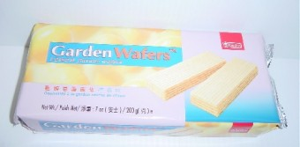 Garden Lemon Cream Wafer